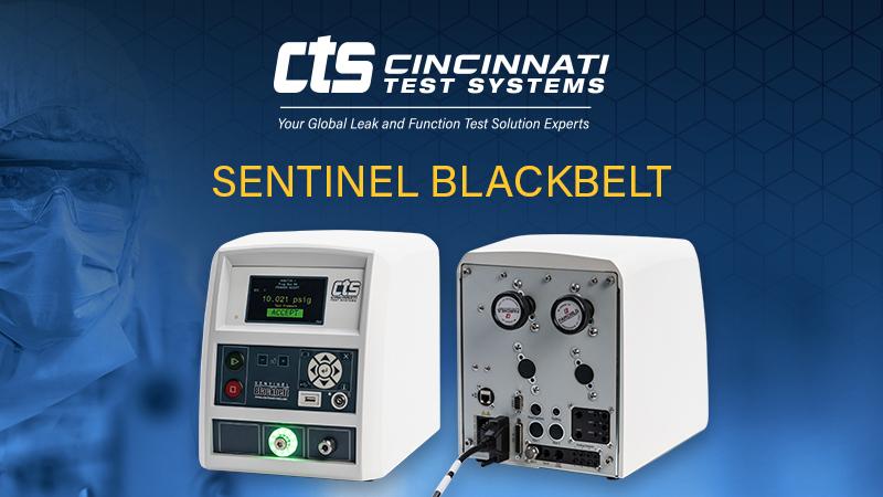 CTS Sentinel Blackbelt leak tester