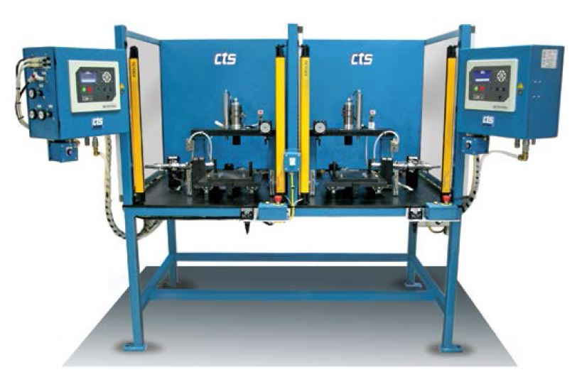 Dual Station Pressure Decay Leak Test System  CTS