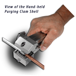 Leak Testing Hand Held Clam Shell