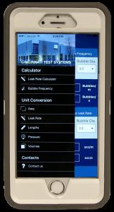 Leak Rate Calculator App