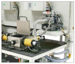 View of the Test Chamber Test System and Inficon Mass Spectrometer CTS